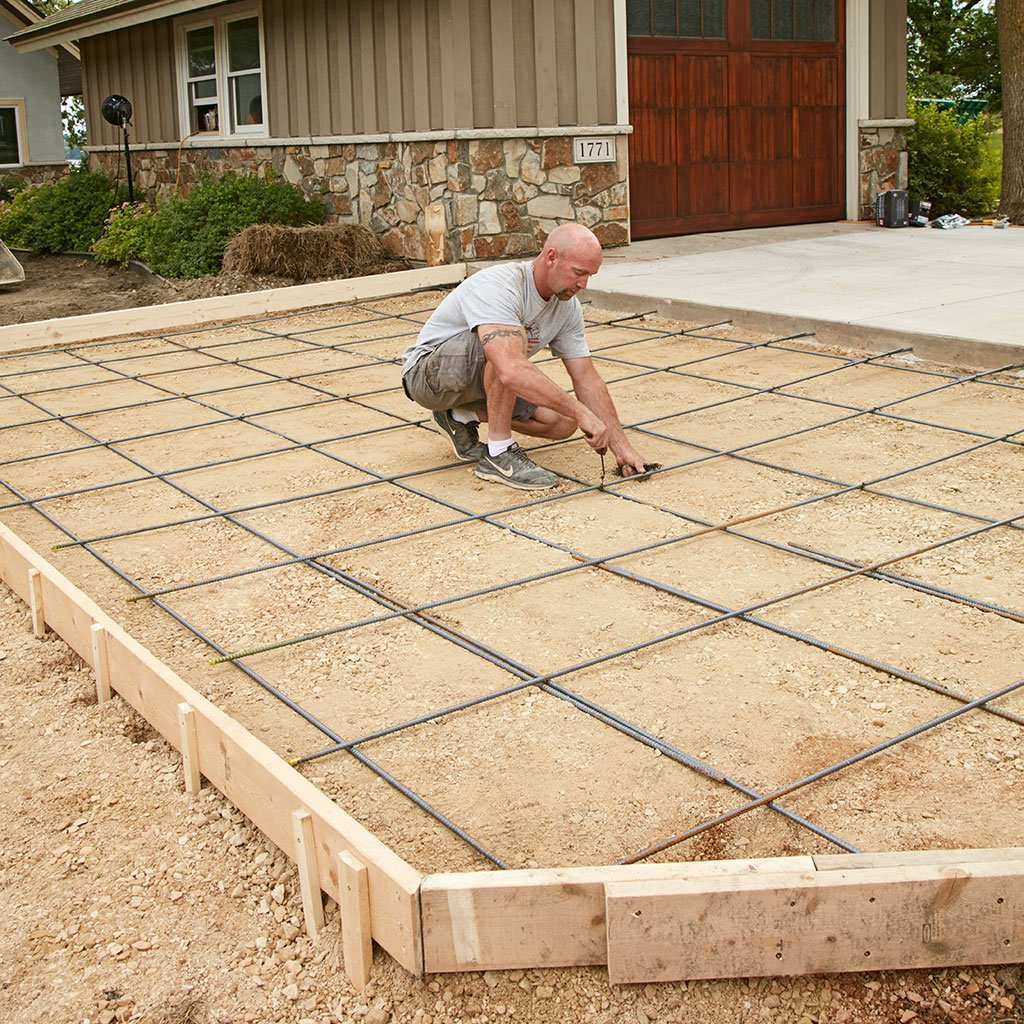 A Beginner's Guide On How To Pour A Concrete Driveway In Sections